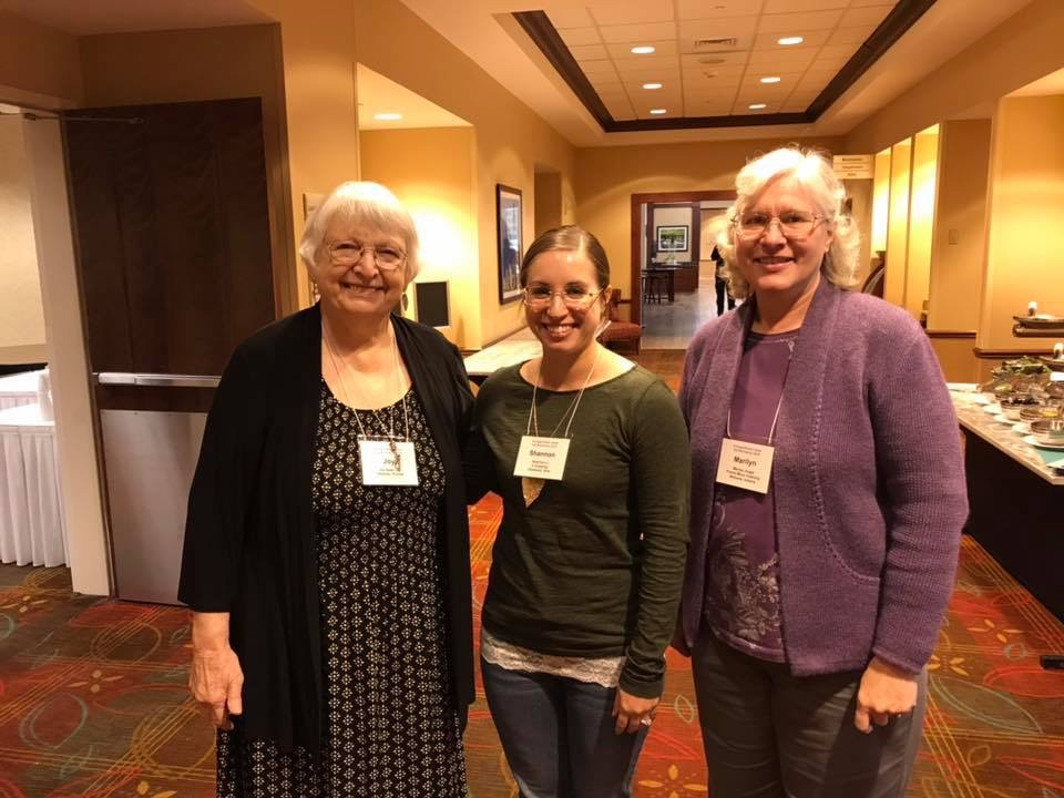 We were so happy to welcome the Ladies from Heartland Chapter!   Joy Dean Lee, Shannon Li, Marilyn Augst